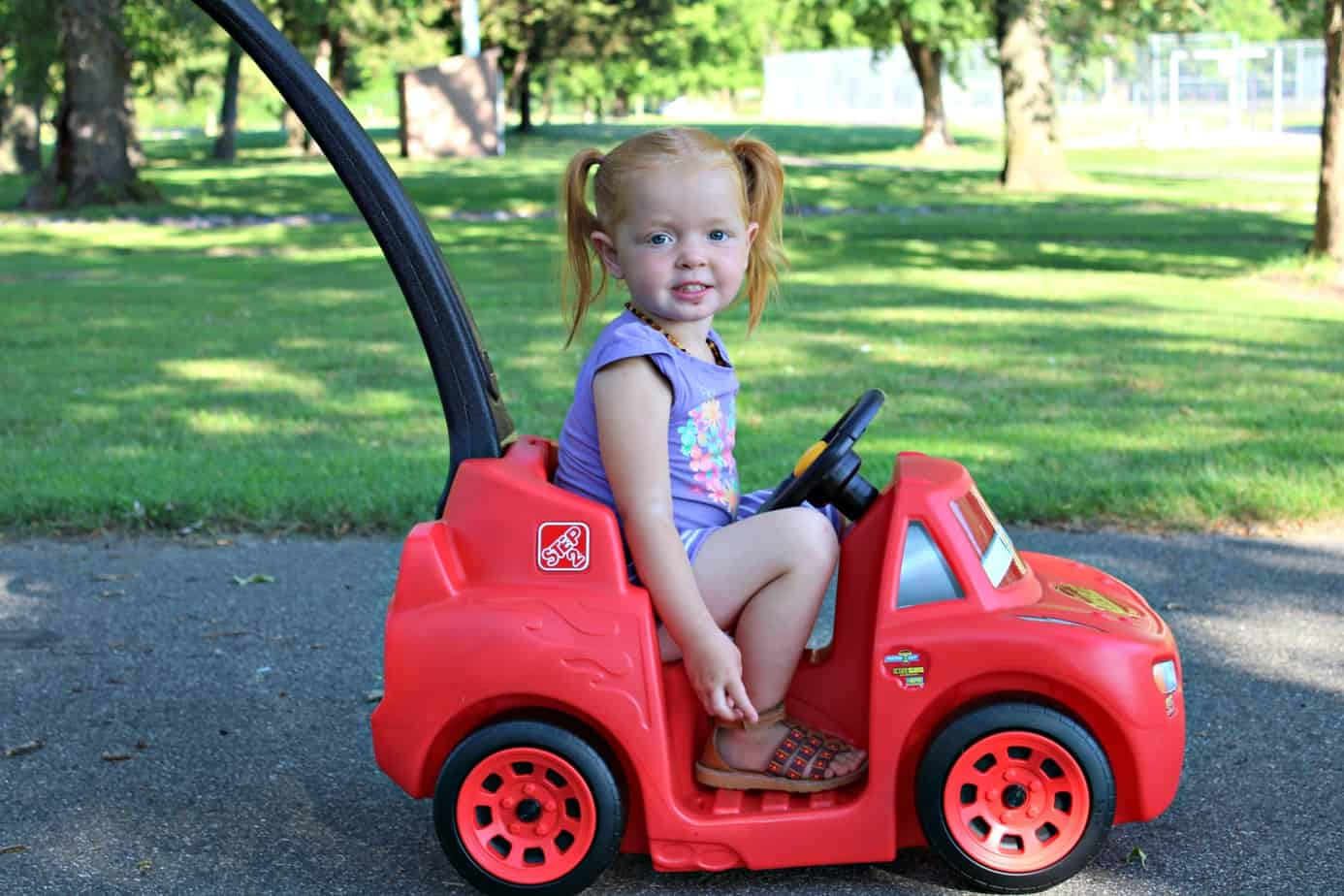 Step2 Cars3 Ride Around Racer Review {+ Giveaway