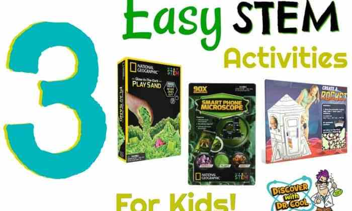 Three Easy STEM Activities For Kids
