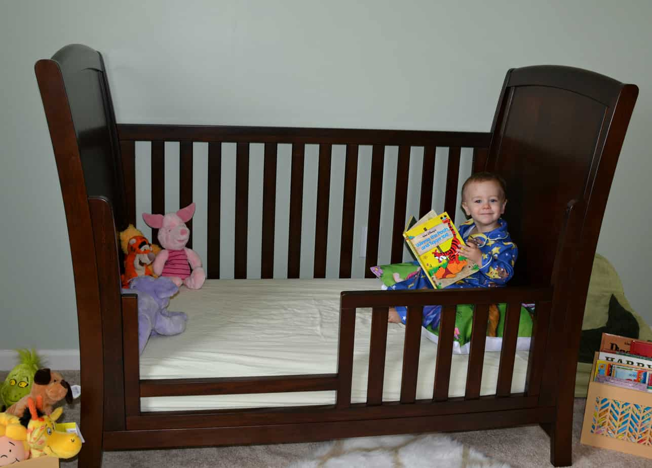5 Tips For A No Cry Toddler Bed Transition Thrifty Nifty