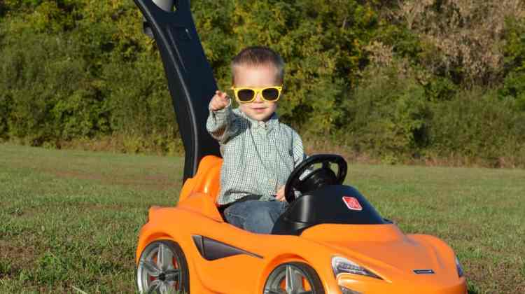 Check Out the Step2 McLaren 570S Push Sports Car {One of the HOTTEST Toys this Holiday Season!}