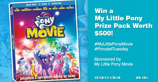 Huge My Little Pony Giveaway!