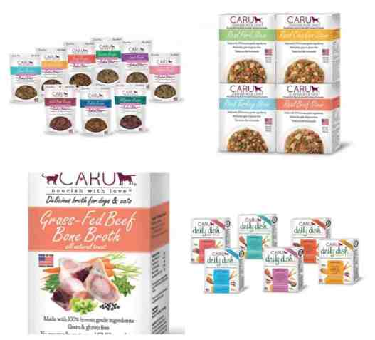 Caru All Natural Human Grade Pet Food & Treats