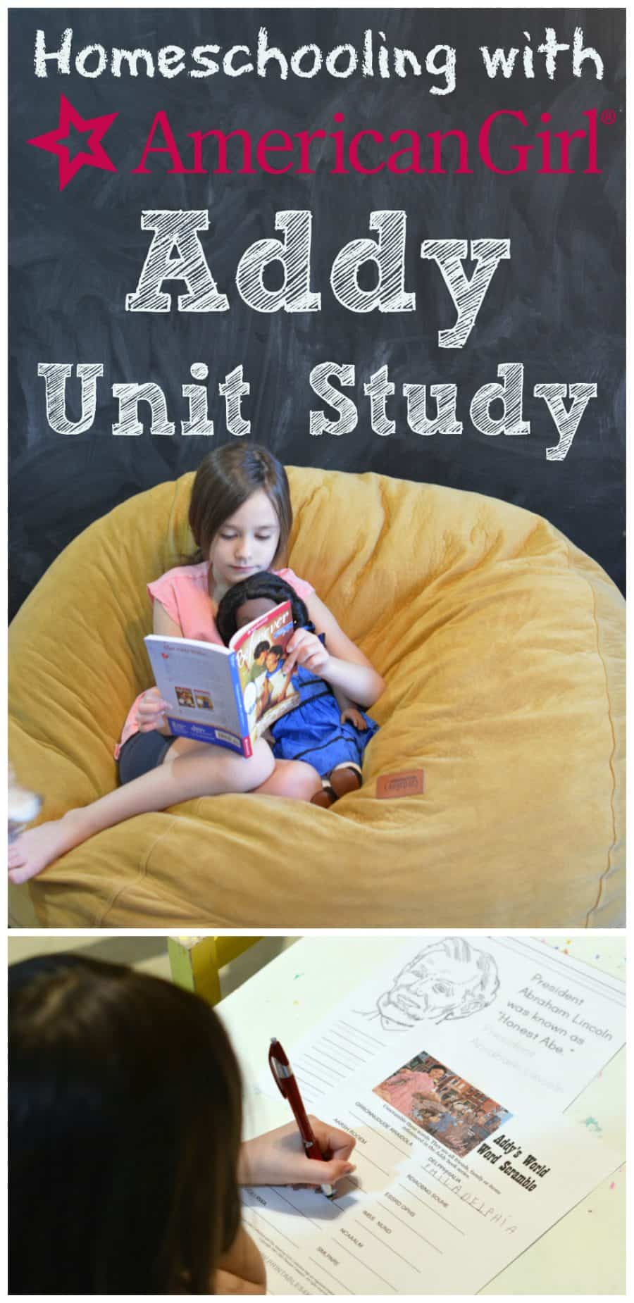 homeschooling with american girl addy unit study