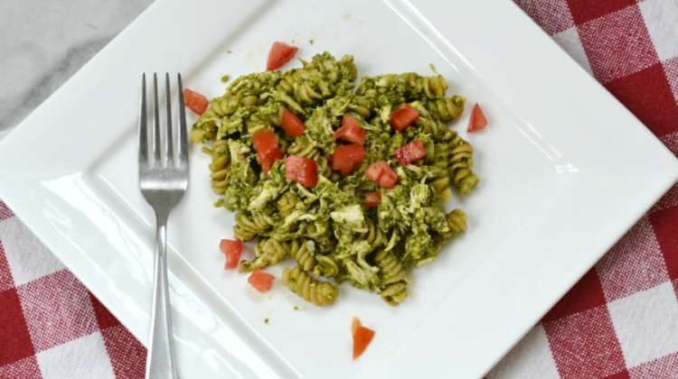 Quick and Easy Chicken Pesto Pasta Recipe