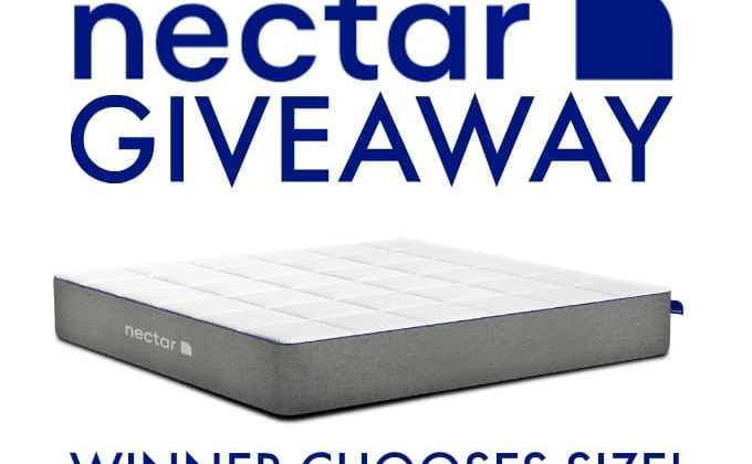 WIN a NECTAR Mattress in Your Choice of Size!