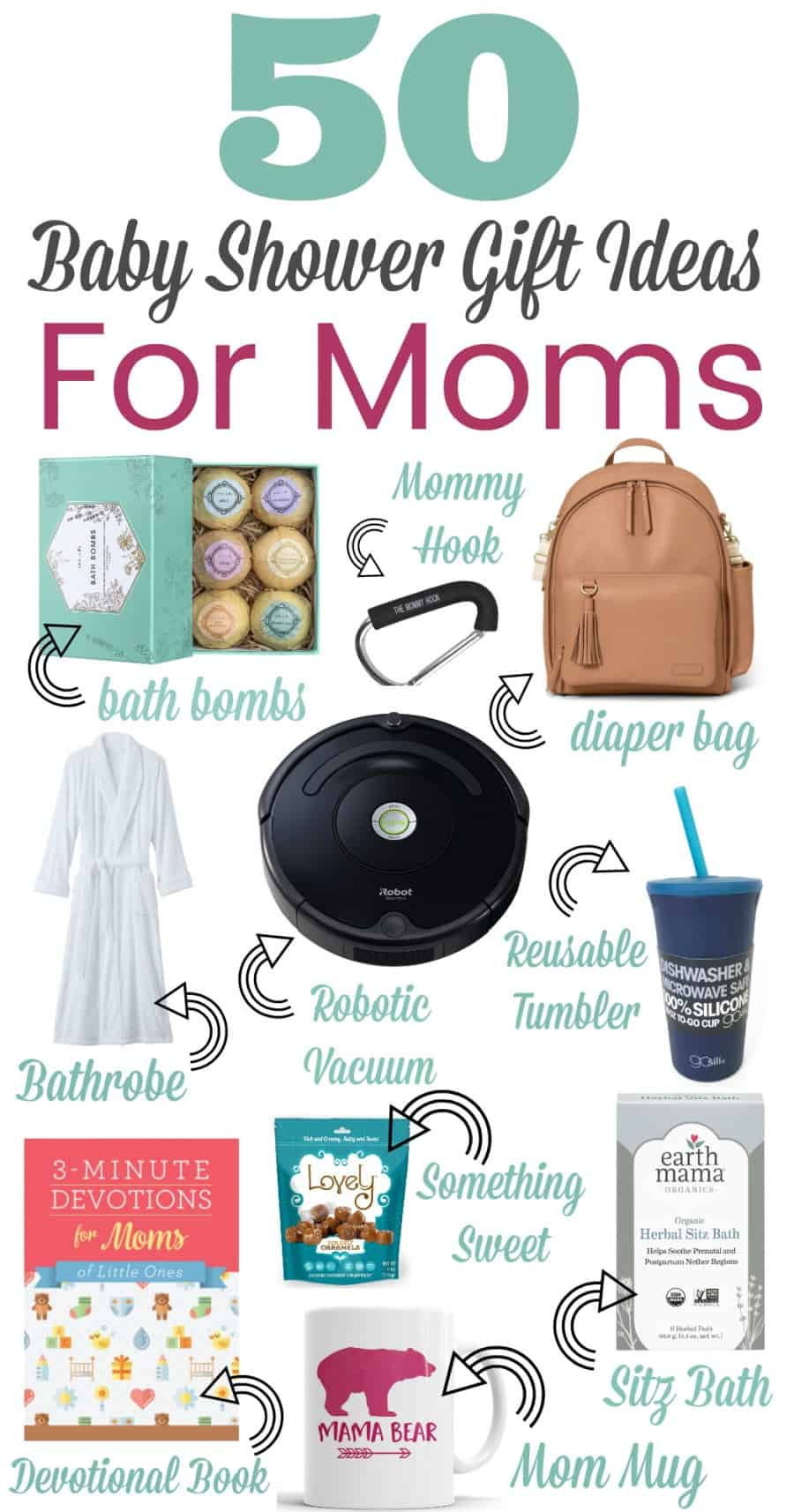 50 Baby Shower Gifts for Mom - Thrifty Nifty Mommy