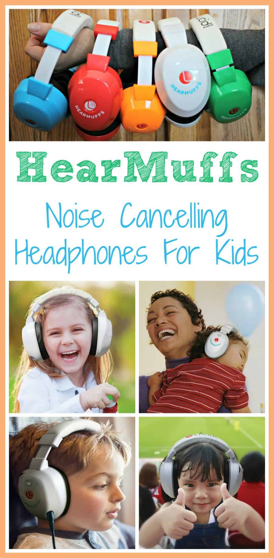 HearMuffs Noise Cancelling Headphones For Kids
