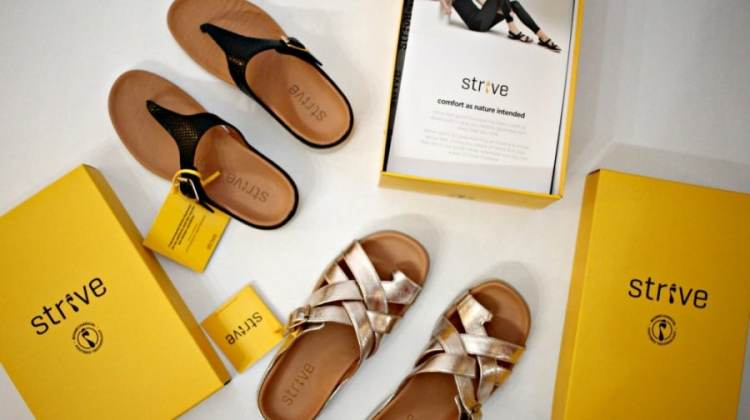 Healthy Footwear Found In Strive Shoes {+ Giveaway!}