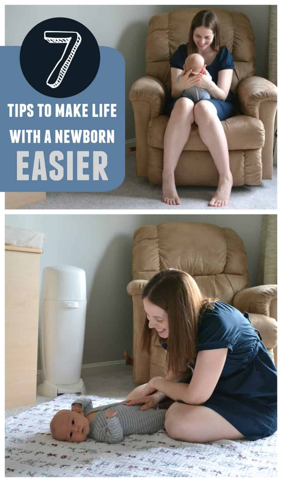 tips to make life with a newborn easier