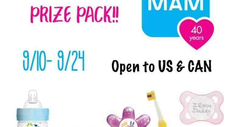 Win a MAM Babies Prize Package!