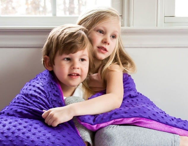 HARKLA WEIGHTED BLANKET FOR AUTISM, ANXIETY, OR ADHD