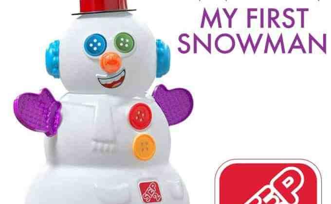 Win a Step2 My First Snowman!