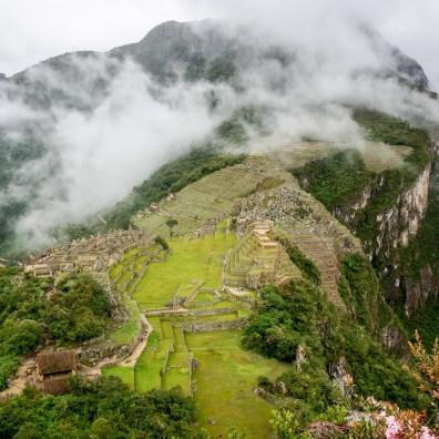 View from Machu Picchu Mountain (Montana Machu Picchu)