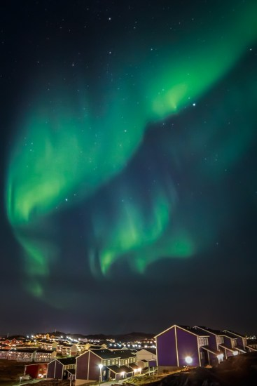 Nuuk Northern Lights Greenland