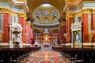 St Stephen basilica budapest