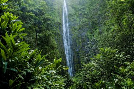 Haleakala National Park waterfalls