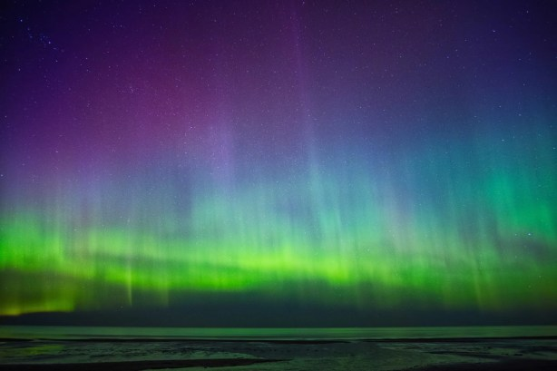 aurora falkland islands southern lights