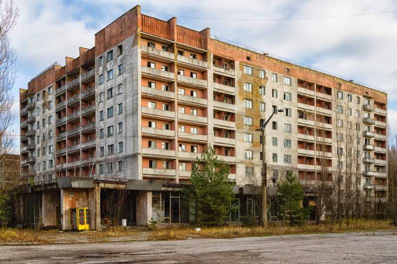Pripyat abandoned apartment