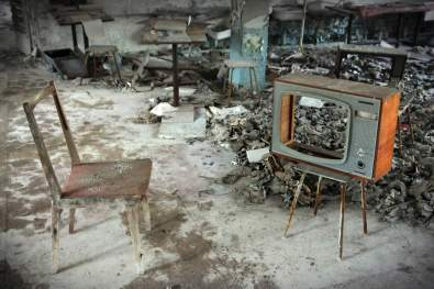 TV middle school Chernobyl Pripyat