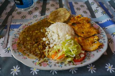 Ciudad Perdida Lost City Colombia trek food meals