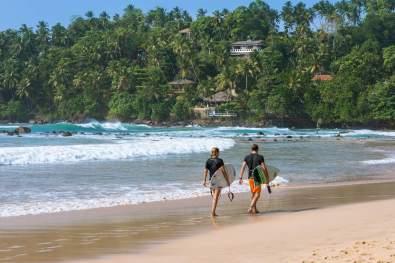 Sri Lanka Mirissa surf