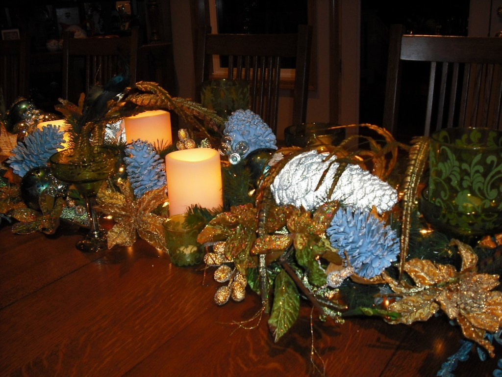 DIY Table Centerpieces (Re-Use Items You Have Around The