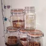 Make it: DIY Gift Ideas – 3D embellished glass jars