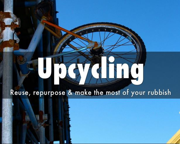 upcycle upcycling reuse repurpose reusing repurposing recycle recycling sustainability slideshow presentation