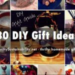 30 DIY gift ideas
