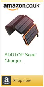 Solar Panel charger power bank