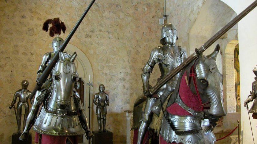 Alcazar of Segovia Knight Display