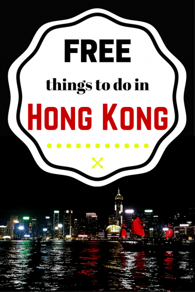 Free things to do in Hong Kong