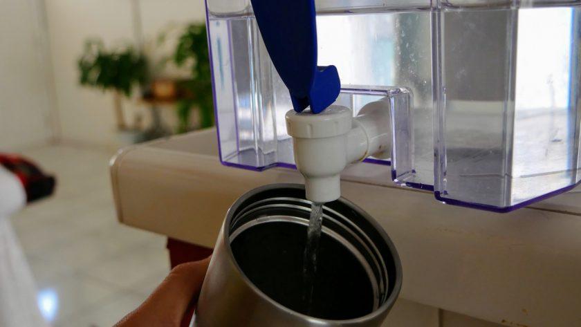 Water bottle refill