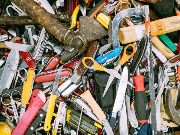 Tool pile