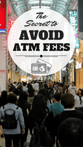 No one likes ATM fees. But there's nothing you can do about it when you're traveling, right? WRONG! There is an easy way you can avoid paying for ATM fees when traveling overseas. If you live in the US, all you need is to open a specific bank account to receive the ultimate debit card for travelers. Pin and read!