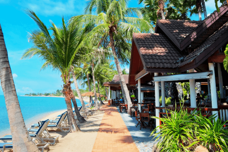 Paradise Beach Resort, Koh Samui