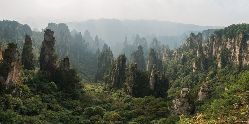 Zhangjiajie National Forest Park, China