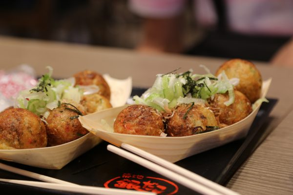 takoyaki in Osaka Japan