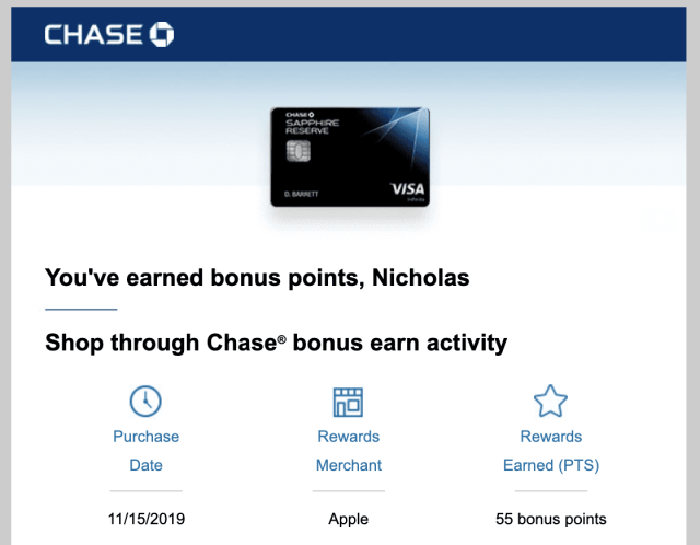 Shop Through Chase