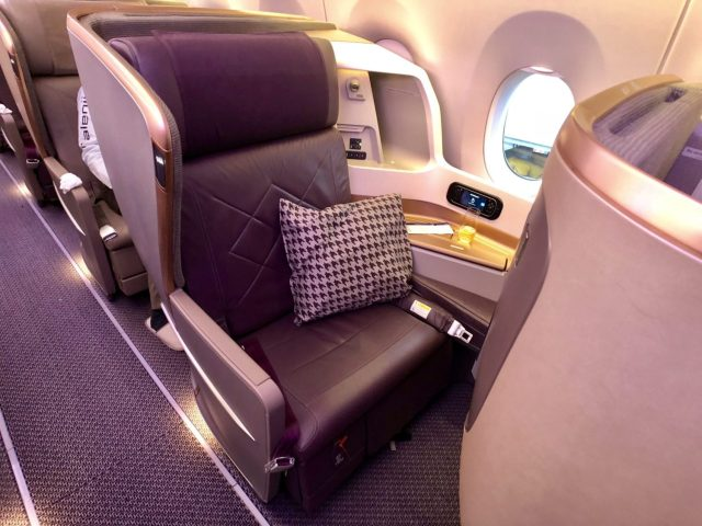 Singapore Airlines Seattle