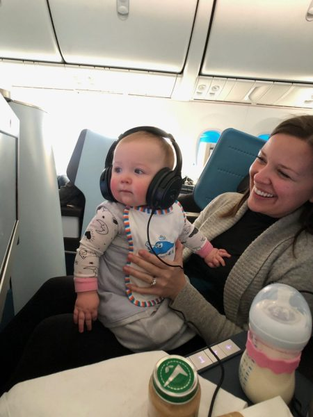 flying with an infant