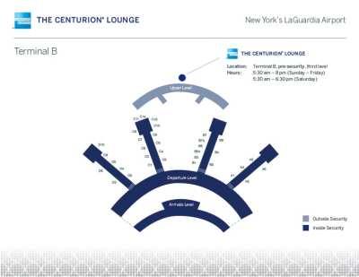 LGA Amex Centurion Lounge