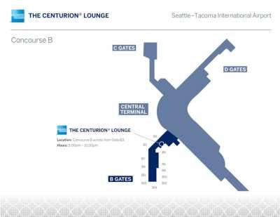 SEA Amex Centurion Lounge