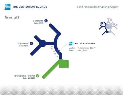 SFO Amex Centurion Lounge