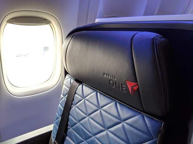 Delta One Suite seat