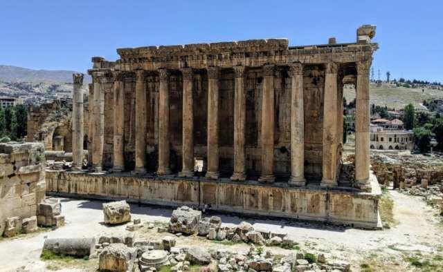 Temple of Bacchus Baalbek