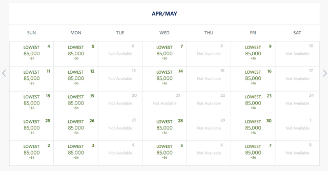 china airlines availability