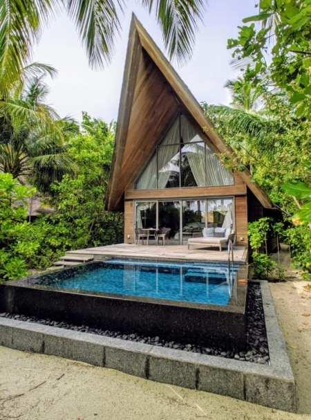 St. Regis Maldives Beach Villa