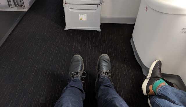 japan airlines economy legroom