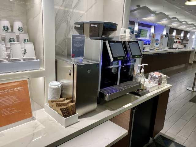 airport lounges espresso